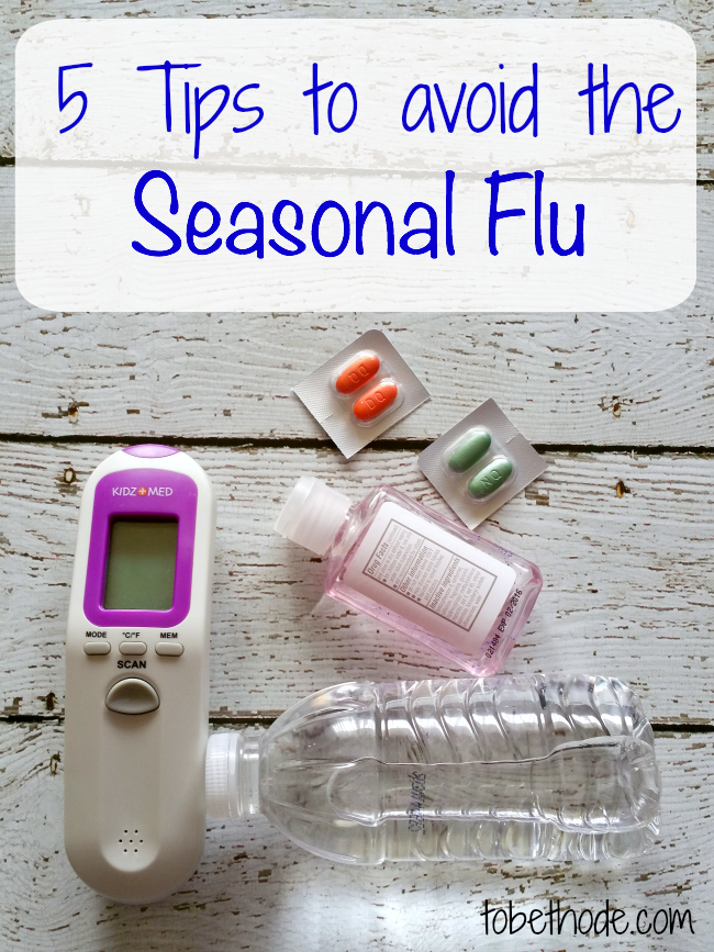 5 Tips to avoid the seasonal flu