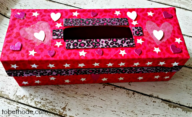 Easy Valentines Day Box Tobethode