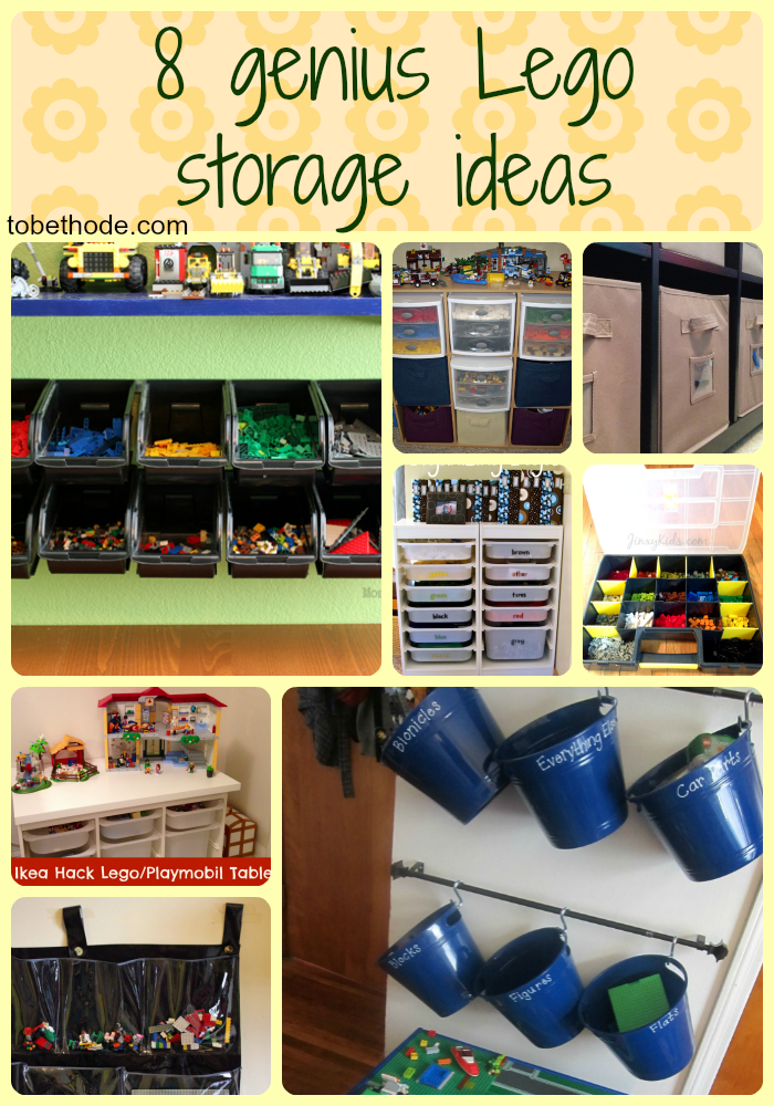 8 Lego Storage Ideas