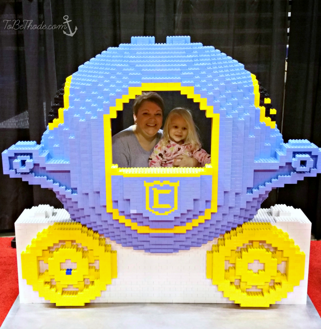 lego princess carriage