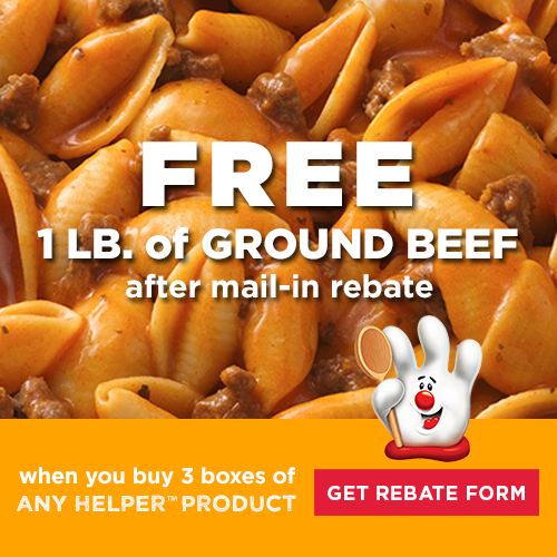 free beef rebate