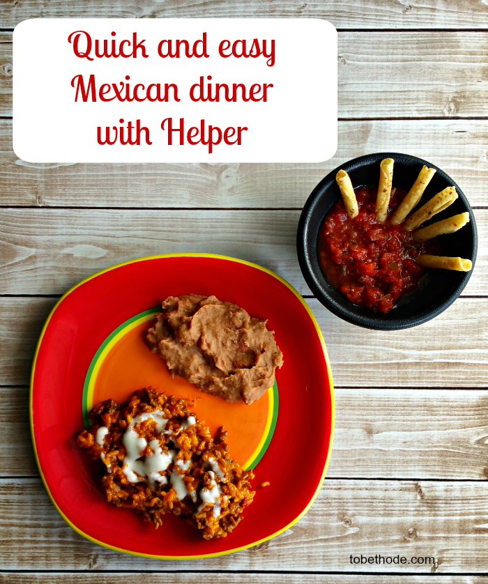Earn FREE beef with Helper and enjoy an quick and easy Mexican meal!