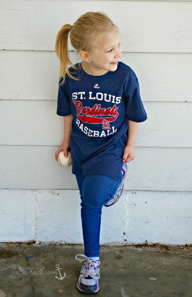 girls cardinals shirt