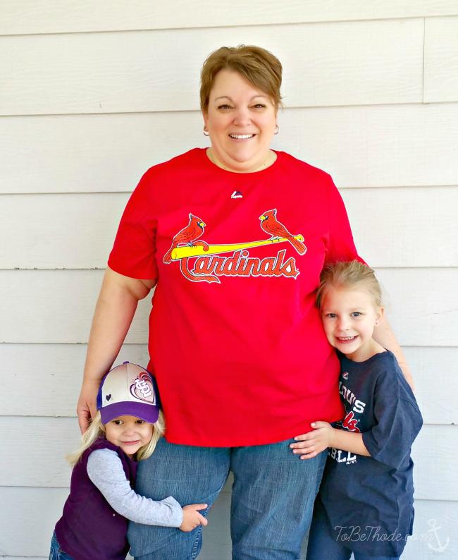 plus size cardinals shirt