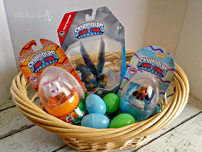 Skylanders Easter basket