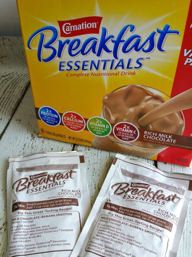Carnation Breakfast Essentials box