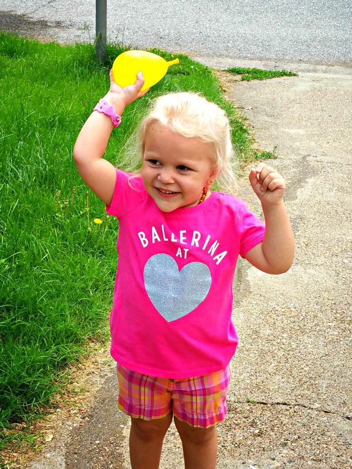Jemma water balloons