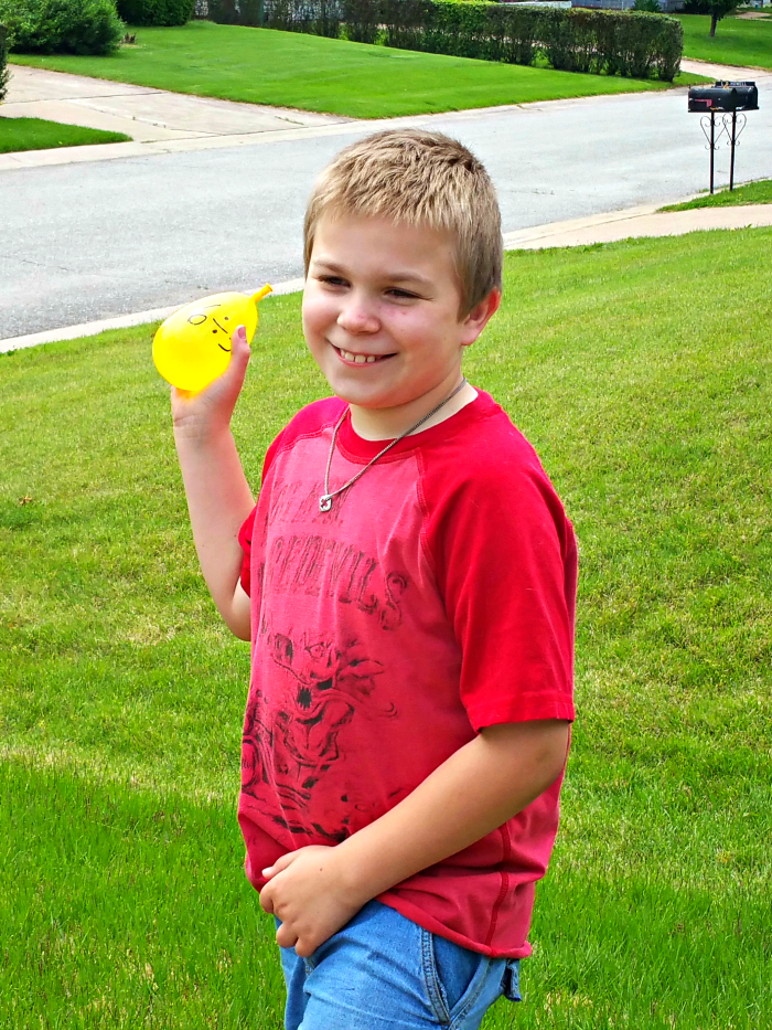 Johnny water balloons