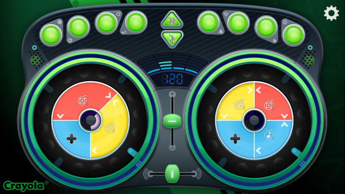 Crayola DJ App is fun for kids of all ages!