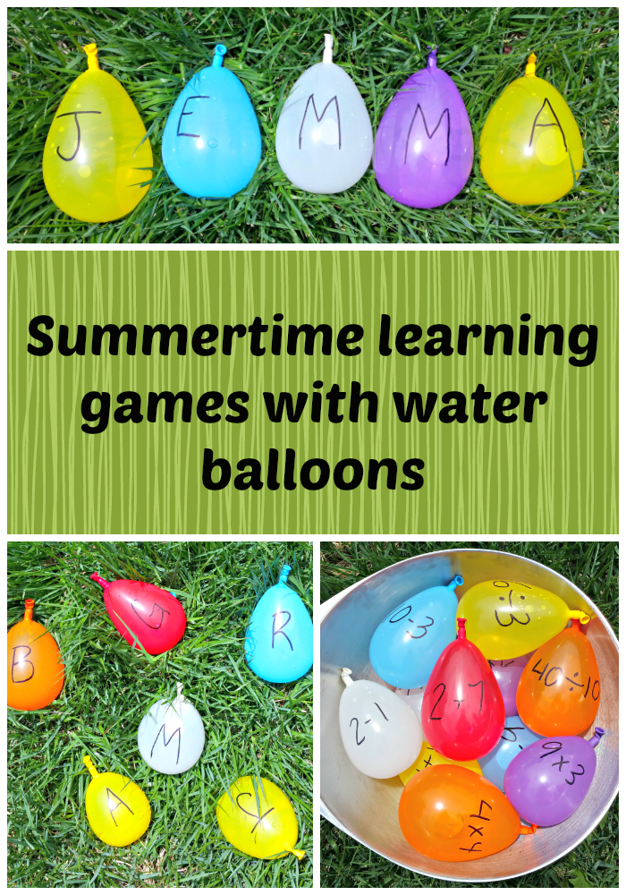 summertime learning games