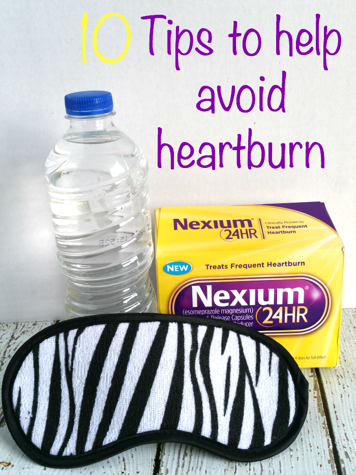 tips to help avoid heartburn