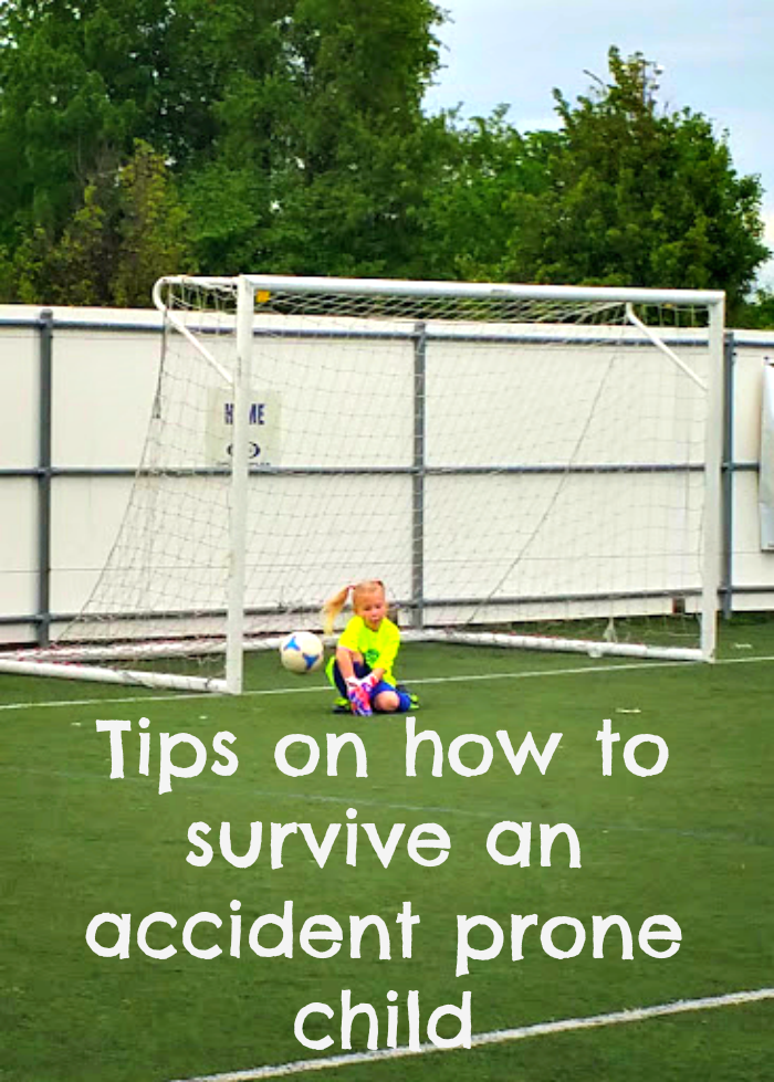 how to survive accident prone child