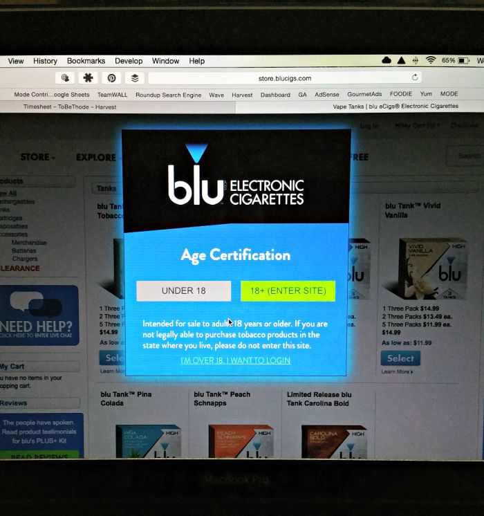 age certification