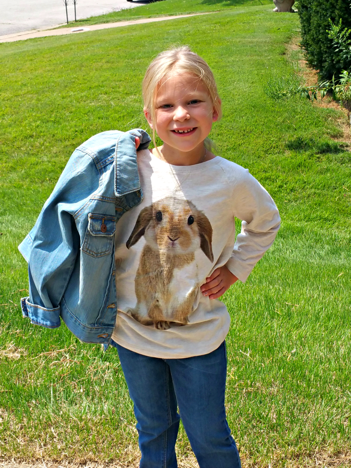 Joley rabbit outfit