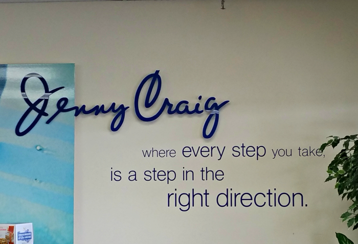 Jenny Craig Sign