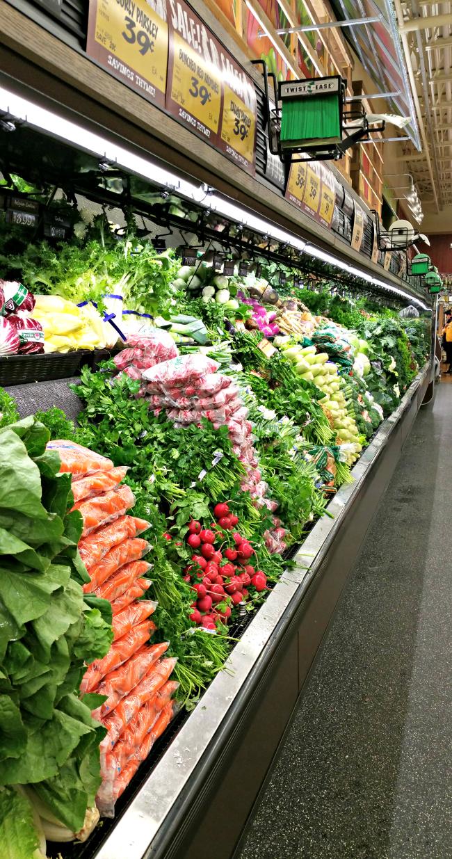 fresh thyme produce