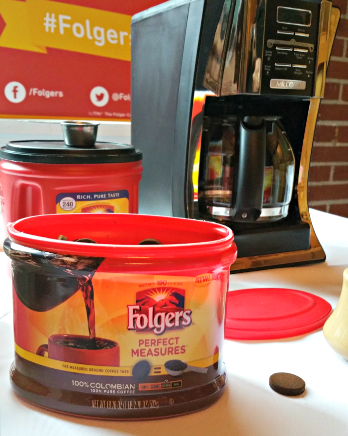 Folgers Perfect Measures provide the perfect cup of coffee, every time!