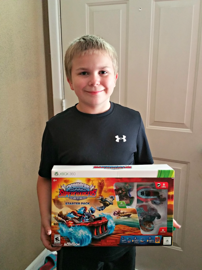 Johnny Skylanders SuperChargers