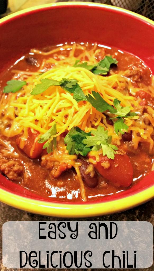 easy delicious chili