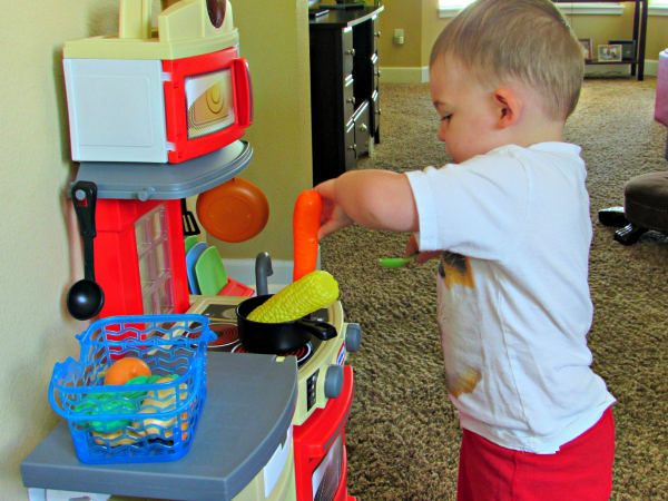 Toddler gift idea: Little Tikes Cook N Store Kitchen
