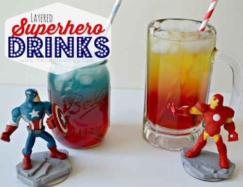 superhero drinks