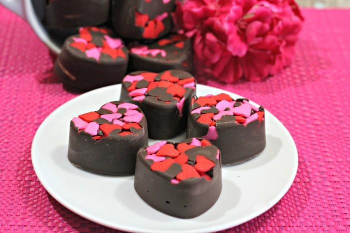 almond butter chocolate truffle