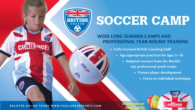 Send your child to British Soccer Camp this summer