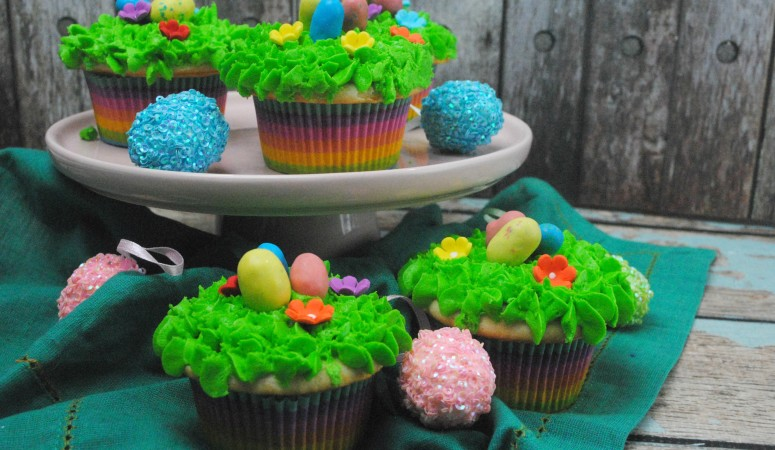 Easter Egg Hunt Cupcake Recipe