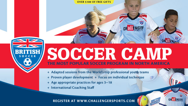 Register for British Soccer Camps NOW