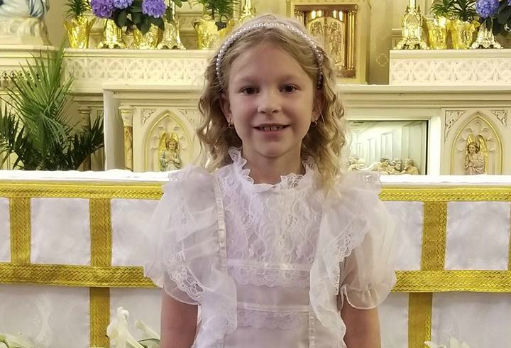 Joley's First Communion