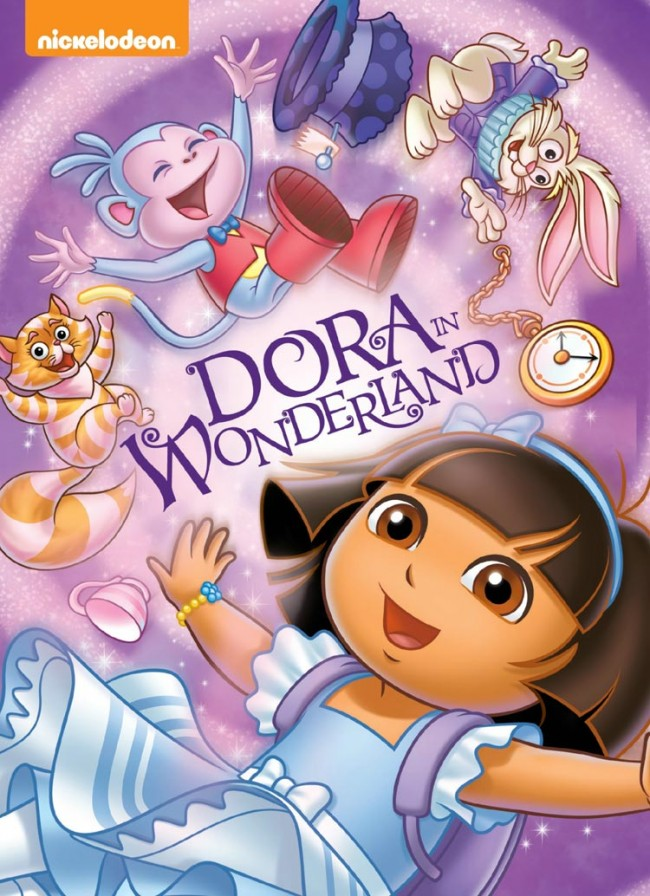 Dora The Explorer Dora In Wonderland Dvd Review And