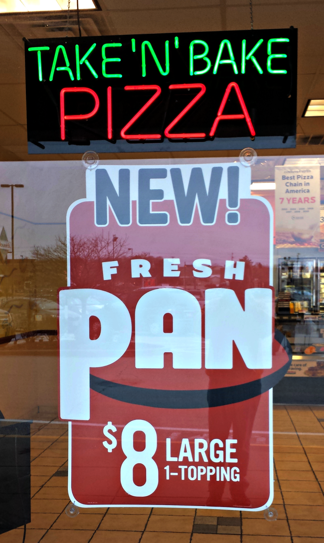 Papa Murphy's Pan Pizza... the pizza you bake at home ...