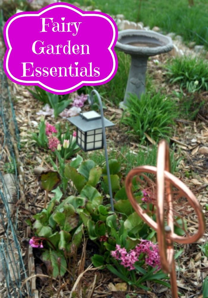 Fairy Garden Essentials
