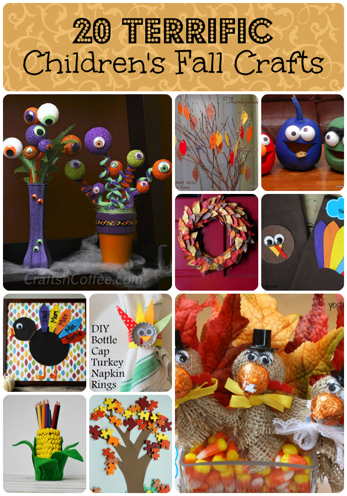 children fall crafts