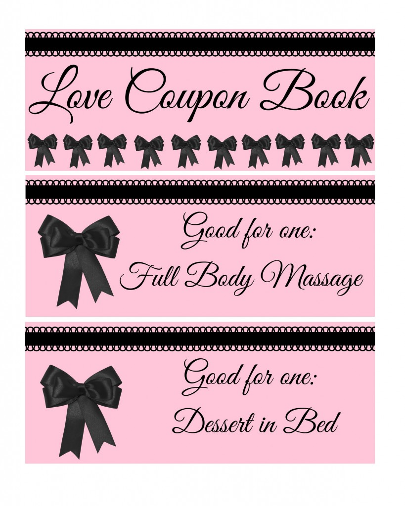 valentine coupon book 1