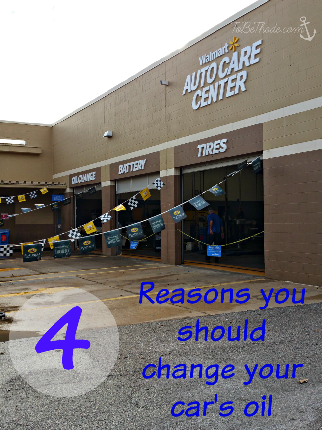 reasons to change car oil