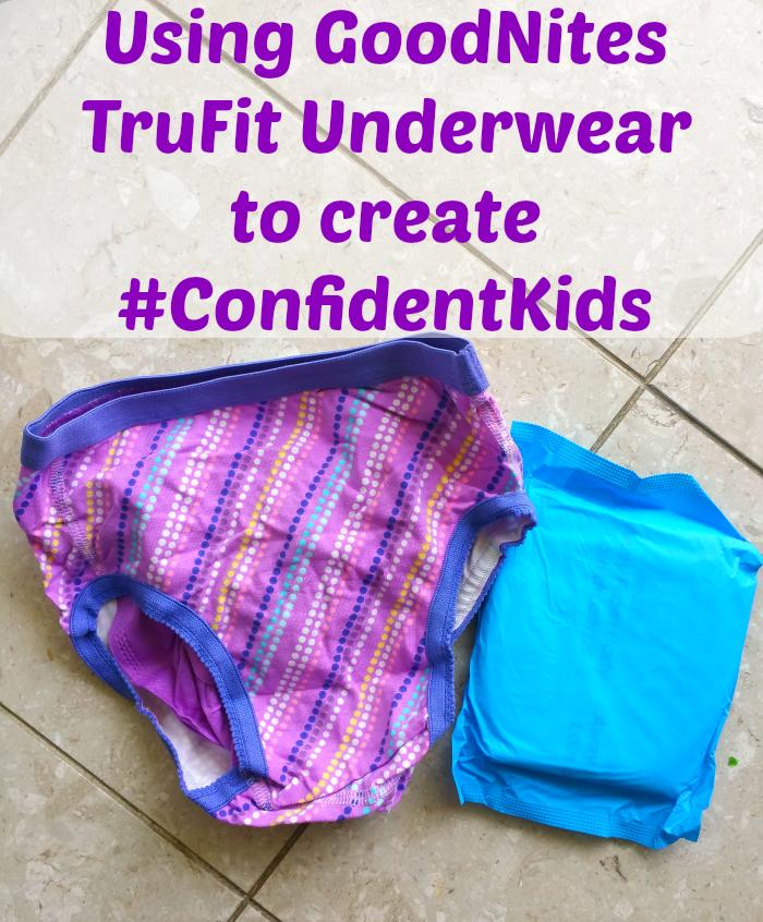 goodnites trufit underwear