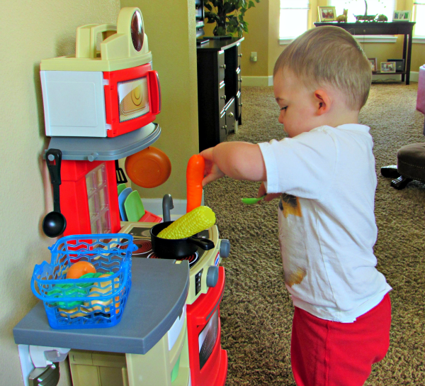 little tikes cook n store